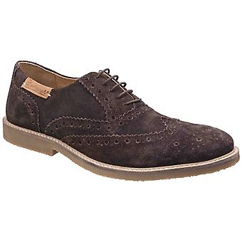 Cotswold Mens Chatsworth Suede Wingtip Shoes