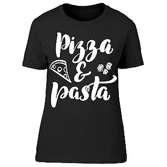 Pizza And Pasta Tee Women's -Image by Shutterstock