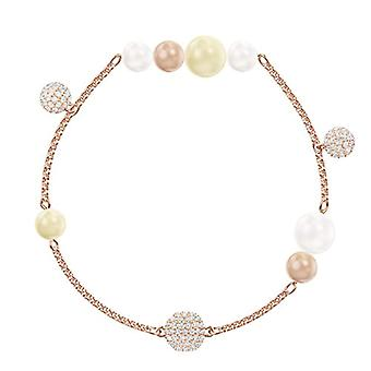 Swarovski Remix Collection Pearl Strand - Multicolor - Rose Gold Plate
