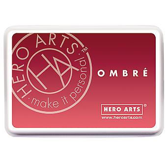 Hero Arts Ombre Ink Pad-Light To Red Royal OMBRE-AF319