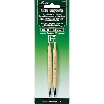 Takumi Bamboo Interchangeable Circular Knitting Needles-Size 11/8mm TBICKN-3642
