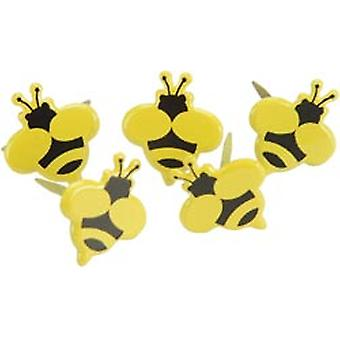 Eyelet Outlet Brads Bumble Bee 12 Pkg Qbrd 663