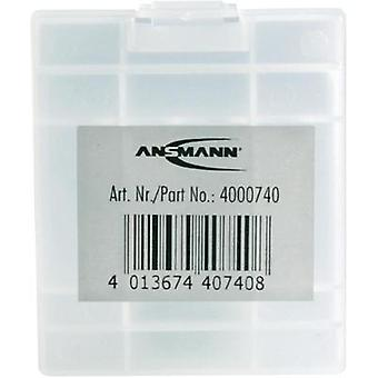 Battery box AAA, AA Ansmann 4 AAA/AA box (L x W x H) 67 x 55 x 22 mm