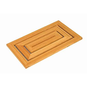 Bamboo Rectangle Pattern Duck Board 35cm X 58cm