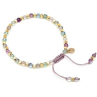 Lola Rose Portobello armband regnbåge fluorit