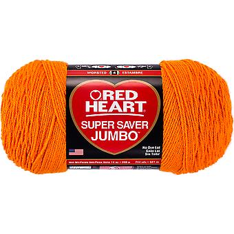 Red Heart Super Saver Yarn-Pumpkin E302C-0254