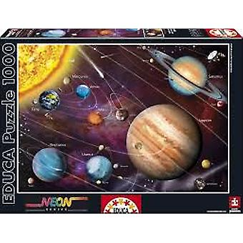 Educa Solar System Puzzle 1000 Pieces (Kids , Toys , Table games , Puzzles)