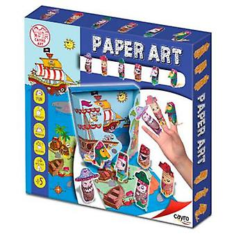 Cayro Art Paper Pirates (Toys , Educative And Creative , Arts And Crafts , Origami)