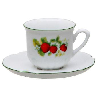 Thun Coffee Cup With Plate Set of 6 (Casa , Cucina , Stoviglie , Tazze e tazze da the')