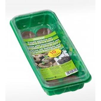 Stocker garden Mini Greenhouse Tray Pills Coir