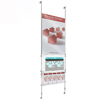 Brochure Holders - A4 / DL / A1 Multipurpose Poster Leaflet Display
