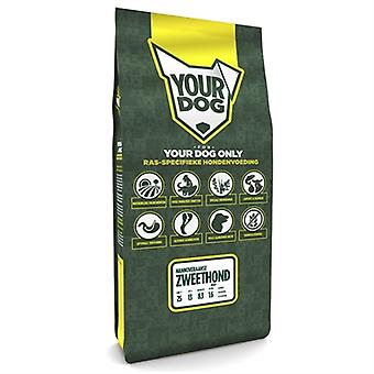 Yourdog Hannoveraanse Zweethond Pup 12 Kg