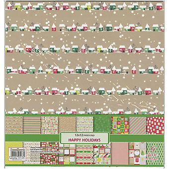 ScrapBerry's Happy Holiday Paper Pack 12