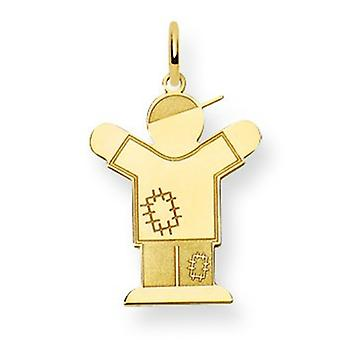 14 k Gold Kid Charme -.8 Gramm