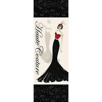 Haute Couture I Poster Print by Katie Guinn