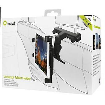 Muvit Universal Car headrest holder for tablets from 7-10 inch (17.7-25, 4 cm)