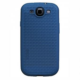 Skech Grip Shock Snap On Case Cover Galaxy S3 i9300 blue