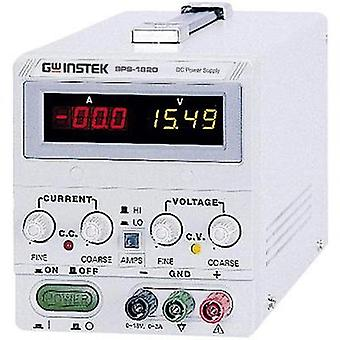 GW Instek SPS-1230, 360W 1 Output Programmable DC Power Supply, Switched Mode, Bench