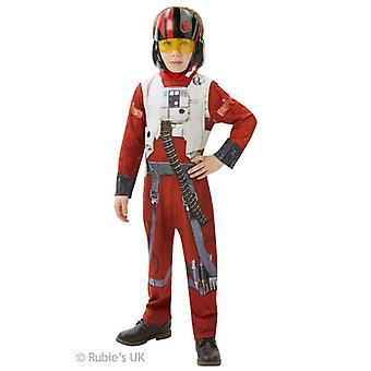 Star Wars Poe X-Wing Fighter Costume - Large