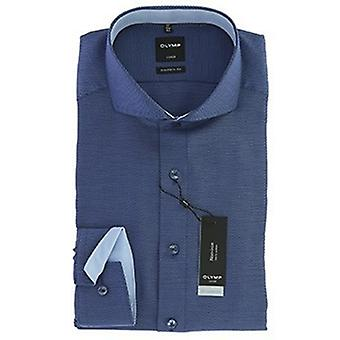 Taglio moderno Olympus Luxor business camicia 44 XL lunga manica Navy