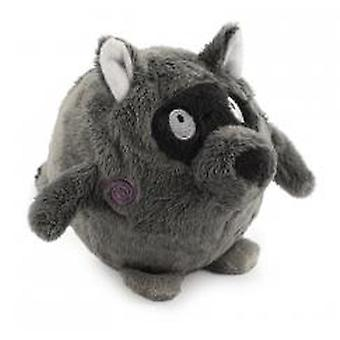Bouncing Woodland Friends Raccoon Medium 10cm (Pack of 3)