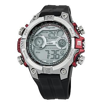 Burgmeister gents alarm Chronograph digital klocka Digital Power BM800-112A