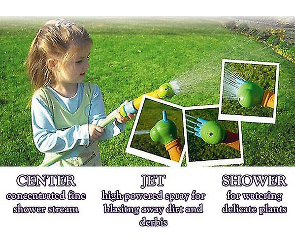 Colorful Sprinkler Multifunctional Nozzle for Kids Children Garden Watering Fun