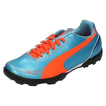 Drenge Junior Puma Astro Turf Football trænere Evo hastighed 5.2 TT JR