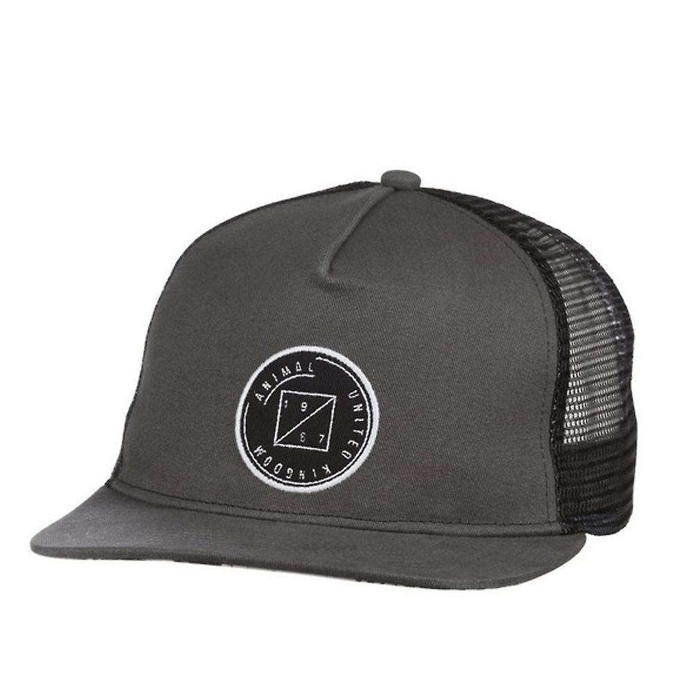 Animal Slatos Trucker Cap - Asphalt Grey
