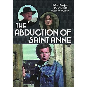 Bortførelse af Saint Anne [DVD] USA import