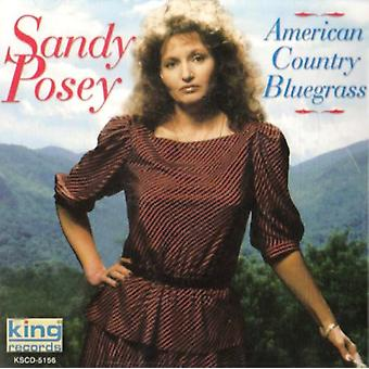 Sandy Posey - American Country Bluegrass [CD] USA import
