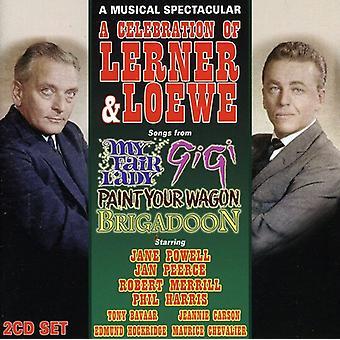 Cast Recording - en fejring af Lerner & Loewe [CD] USA import