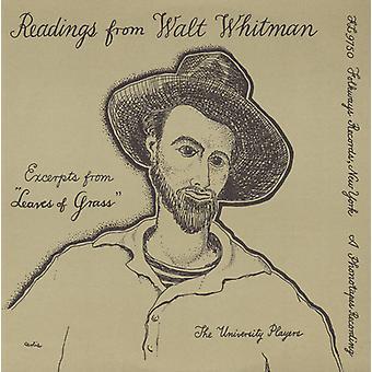 Universitetet spillere - valg fra Walt Whitman Leaves of Grass [DVD] USA importere