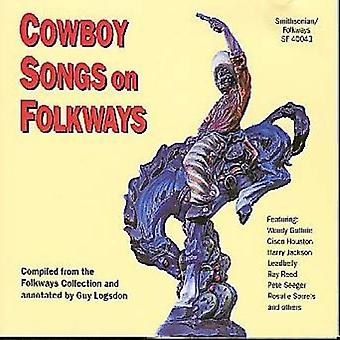 Cowboy låtar på Folkways - Cowboy låtar på Folkways [CD] USA import
