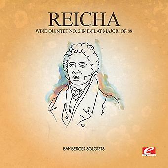 Importación de Reicha - viento USA 2 quinteto en mi bemol mayor 88 [CD]