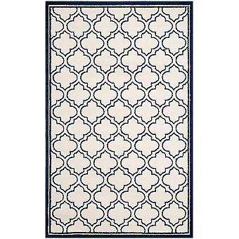 Moderne elfenben & marineblå espalier tæpper - Safavieh