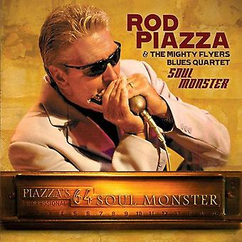 Rod Piazza & mægtige Flyers Blues kvartetten - sjæl Monster [CD] USA importerer