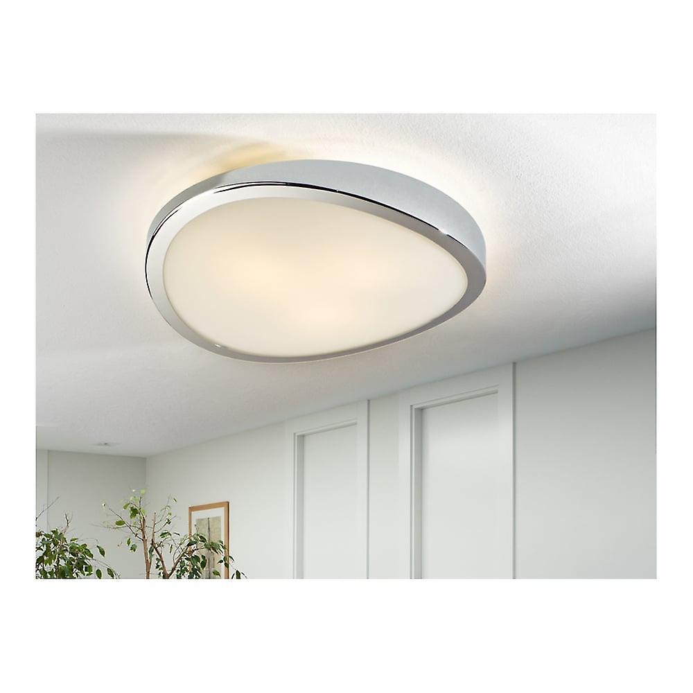 Schuller LEDa Chrome Ceiling Lamp, 3L