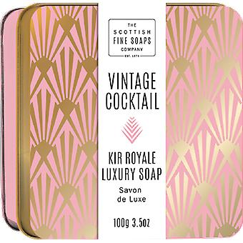 Scottish Fine Soaps Kir Royal zeep in een Tin