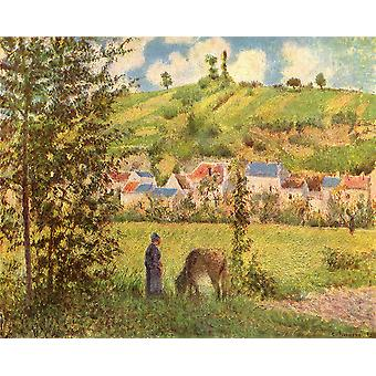 Camille Pissarro - Fied Poster Print Giclee