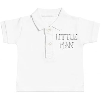 Spoilt Rotten Little Man Baby Polo T-Shirt
