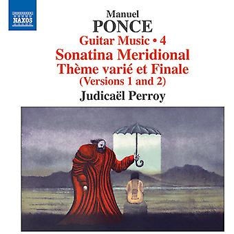 Ponce / Perroy - Guitar Music 4 [CD] USA import
