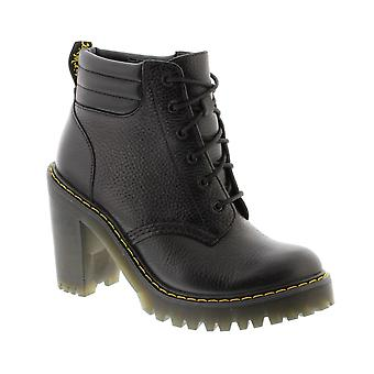 Dr Martens Perséphone - noir tante Sally cuir Womens Boots