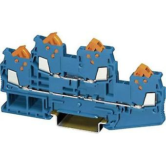 Two-level terminal block QTTCB 1,5 BU Phoenix Contact Blue