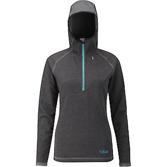 Rab Womens Nucleus Hoody Anthracite (UK Size 12)