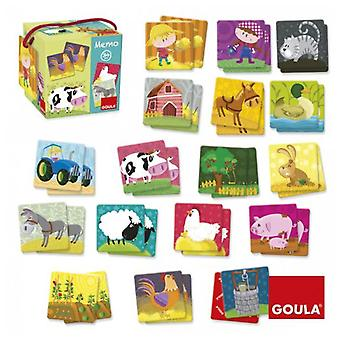 Goula Memo Lotus Farm Animals (Toys , Boardgames , Skills)