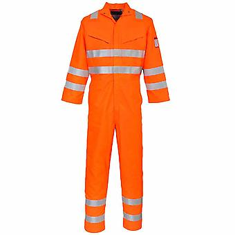 Portwest - Araflame Hi-Vis Safety Workwear Multi Coverall Boilersuit
