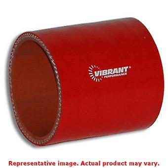 Vibrant Silicone - Straight Hose Couplers 2718R Red 4