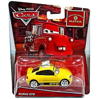 Disney Cars Rescue Squad Mater Nurse GTO  1.55 Diecast Car