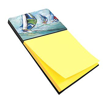Carolines Treasures  JMK1030SN Boat Race Sticky Note Holder